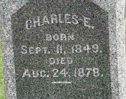 FAIRCHILD, CHARLES E. - Lorain County, Ohio | CHARLES E. FAIRCHILD - Ohio Gravestone Photos