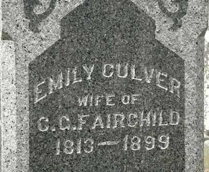 FAIRCHILD, EMILY - Lorain County, Ohio | EMILY FAIRCHILD - Ohio Gravestone Photos