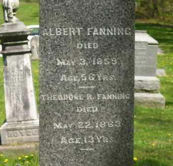 FANNING, ALBERT - Lorain County, Ohio | ALBERT FANNING - Ohio Gravestone Photos