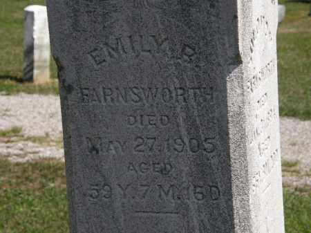 FARNSWORTH, EMILY B. - Lorain County, Ohio | EMILY B. FARNSWORTH - Ohio Gravestone Photos