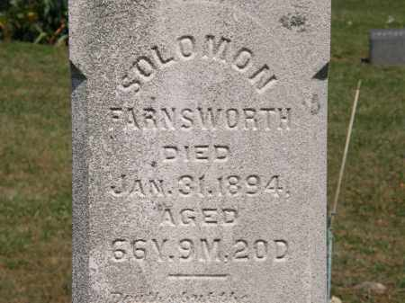 FARNSWORTH, SOLOMON - Lorain County, Ohio | SOLOMON FARNSWORTH - Ohio Gravestone Photos