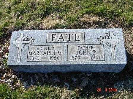 FATE, MARGARET M. - Lorain County, Ohio | MARGARET M. FATE - Ohio Gravestone Photos