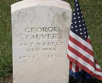 FAUVER, GEORGE - Lorain County, Ohio | GEORGE FAUVER - Ohio Gravestone Photos