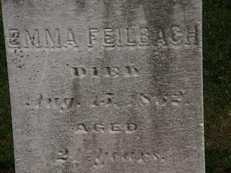 FEILBACH, EMMA - Lorain County, Ohio | EMMA FEILBACH - Ohio Gravestone Photos