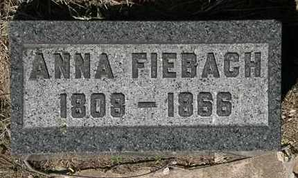 FIEBACH, ANNA - Lorain County, Ohio | ANNA FIEBACH - Ohio Gravestone Photos