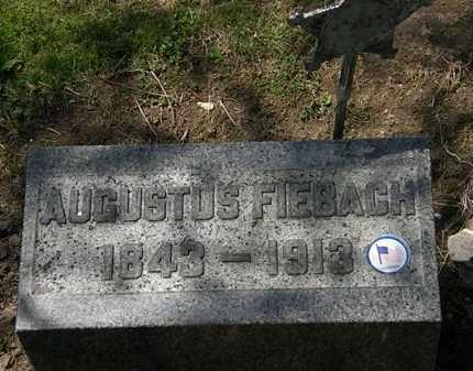 FIEBACH, AUGUSTUS - Lorain County, Ohio | AUGUSTUS FIEBACH - Ohio Gravestone Photos