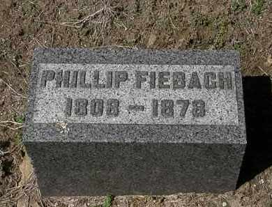 FIEBACH, PHILLIP - Lorain County, Ohio | PHILLIP FIEBACH - Ohio Gravestone Photos