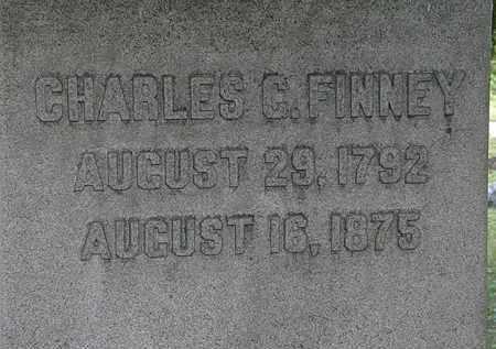 FINNEY, CHARLES C. - Lorain County, Ohio | CHARLES C. FINNEY - Ohio Gravestone Photos