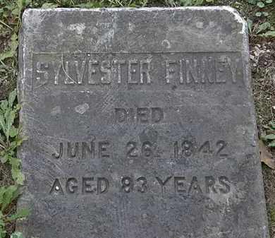 FINNEY, SYLVESTER - Lorain County, Ohio | SYLVESTER FINNEY - Ohio Gravestone Photos