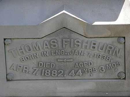 FISHBURN, THOMAS - Lorain County, Ohio | THOMAS FISHBURN - Ohio Gravestone Photos