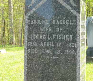 HASKELL FISHER, CAROLINE - Lorain County, Ohio | CAROLINE HASKELL FISHER - Ohio Gravestone Photos
