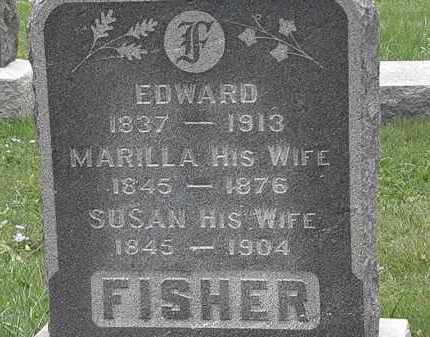 FISHER, EDWARD - Lorain County, Ohio | EDWARD FISHER - Ohio Gravestone Photos
