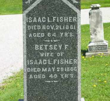 FISHER, BETSEY F. - Lorain County, Ohio | BETSEY F. FISHER - Ohio Gravestone Photos