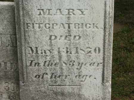 FITCPATRICK, MARY - Lorain County, Ohio | MARY FITCPATRICK - Ohio Gravestone Photos