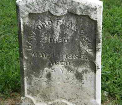 FRANCISCO, HANFORD - Lorain County, Ohio   HANFORD FRANCISCO - Ohio Gravestone Photos