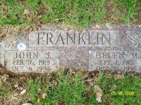 FRANKLIN, HELEN M. - Lorain County, Ohio | HELEN M. FRANKLIN - Ohio Gravestone Photos