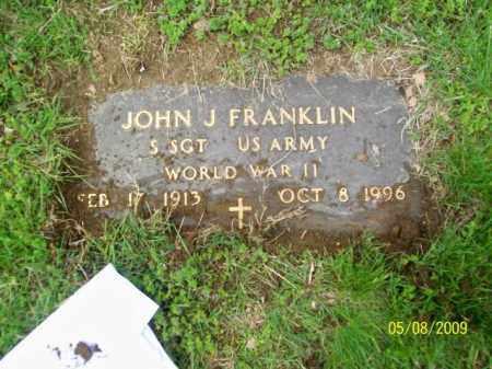 FRANKLIN, JOHN J - Lorain County, Ohio | JOHN J FRANKLIN - Ohio Gravestone Photos