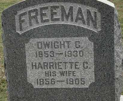 FREEMAN, DWIGHT C. - Lorain County, Ohio | DWIGHT C. FREEMAN - Ohio Gravestone Photos