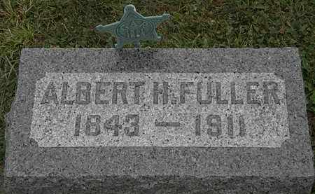 FULLER, ALBERT H. - Lorain County, Ohio | ALBERT H. FULLER - Ohio Gravestone Photos