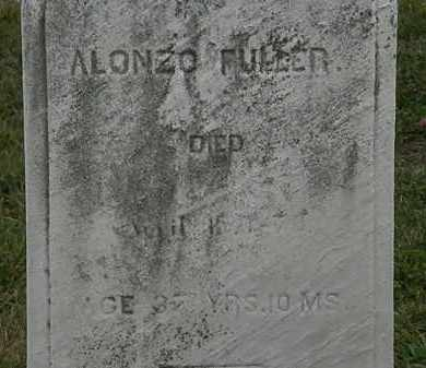 FULLER, ALONZO - Lorain County, Ohio | ALONZO FULLER - Ohio Gravestone Photos