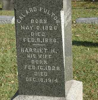 FULTON, HARRIET H. - Lorain County, Ohio | HARRIET H. FULTON - Ohio Gravestone Photos