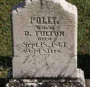 FULTON, POLLY - Lorain County, Ohio | POLLY FULTON - Ohio Gravestone Photos
