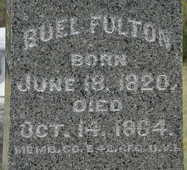 FULTON, RUEL - Lorain County, Ohio | RUEL FULTON - Ohio Gravestone Photos