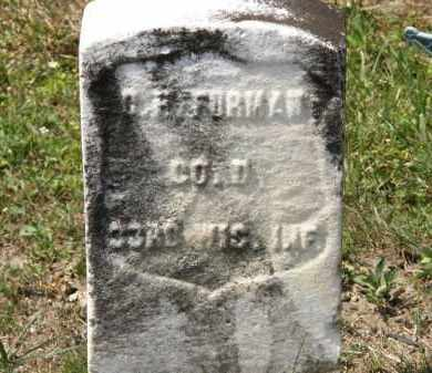 FURHMAN, C. H. - Lorain County, Ohio | C. H. FURHMAN - Ohio Gravestone Photos