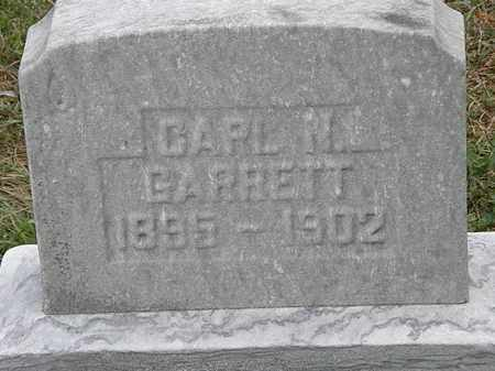 H. GARRETT, CARL - Lorain County, Ohio | CARL H. GARRETT - Ohio Gravestone Photos