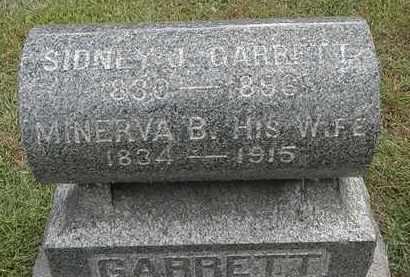 GARRETT, MINERVA B. - Lorain County, Ohio | MINERVA B. GARRETT - Ohio Gravestone Photos