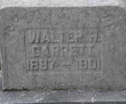 GARRETT, WALTER H. - Lorain County, Ohio | WALTER H. GARRETT - Ohio Gravestone Photos