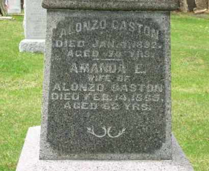 GASTON, AMANDA E. - Lorain County, Ohio | AMANDA E. GASTON - Ohio Gravestone Photos