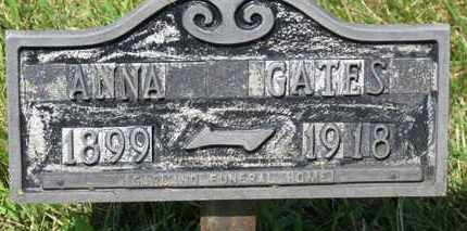 GATES, ANNA - Lorain County, Ohio | ANNA GATES - Ohio Gravestone Photos