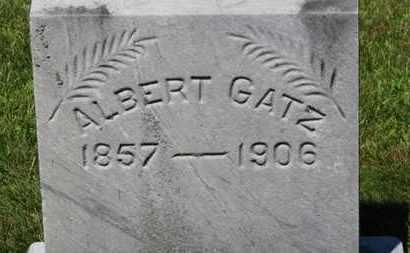 GATZ, ALBERT - Lorain County, Ohio | ALBERT GATZ - Ohio Gravestone Photos