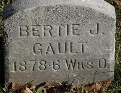 GAULT, BERTIE J. - Lorain County, Ohio | BERTIE J. GAULT - Ohio Gravestone Photos