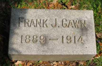 GAWN, FRANK J. - Lorain County, Ohio | FRANK J. GAWN - Ohio Gravestone Photos