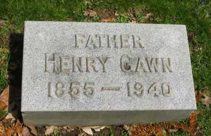 GAWN, HENRY - Lorain County, Ohio | HENRY GAWN - Ohio Gravestone Photos