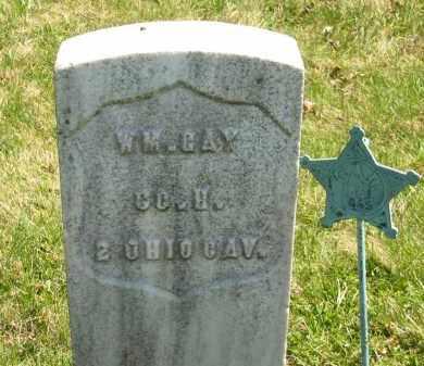 GAY, WM. - Lorain County, Ohio | WM. GAY - Ohio Gravestone Photos