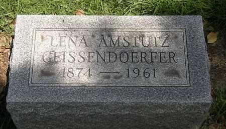 AMSTUTZ GEISSENDOERFOR, LENA - Lorain County, Ohio | LENA AMSTUTZ GEISSENDOERFOR - Ohio Gravestone Photos