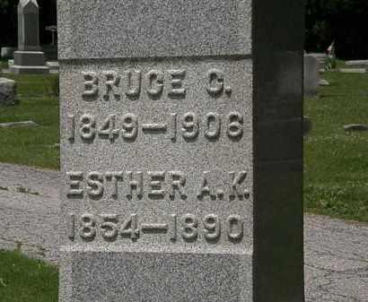 GIBSON, ESTHER A. K. - Lorain County, Ohio | ESTHER A. K. GIBSON - Ohio Gravestone Photos