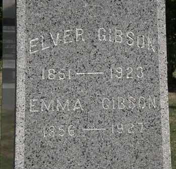 GIBSON, EMMA - Lorain County, Ohio | EMMA GIBSON - Ohio Gravestone Photos