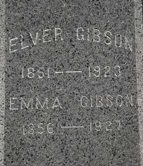 GIBSON, ELVER - Lorain County, Ohio | ELVER GIBSON - Ohio Gravestone Photos