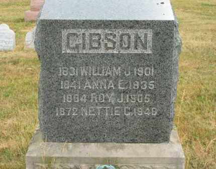 GIBSON, WILLIAM J. - Lorain County, Ohio | WILLIAM J. GIBSON - Ohio Gravestone Photos