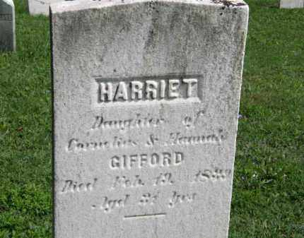 GIFFORD, HARRIET - Lorain County, Ohio | HARRIET GIFFORD - Ohio Gravestone Photos
