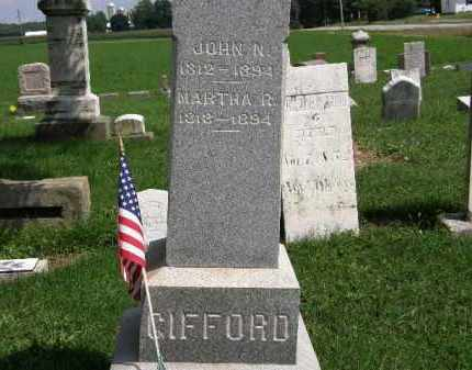 GIFFORD, MARTHA R. - Lorain County, Ohio | MARTHA R. GIFFORD - Ohio Gravestone Photos