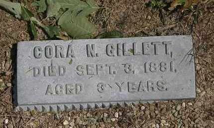 GILLETT, CORA N. - Lorain County, Ohio | CORA N. GILLETT - Ohio Gravestone Photos
