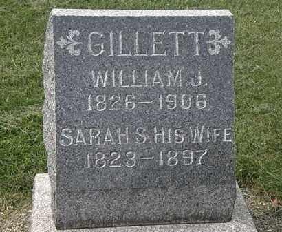 GILLETT, WILLIAM J. - Lorain County, Ohio | WILLIAM J. GILLETT - Ohio Gravestone Photos