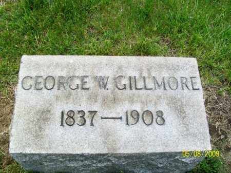 W GILLMORE, GEORGE - Lorain County, Ohio | GEORGE W GILLMORE - Ohio Gravestone Photos