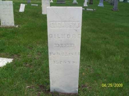 GILMORE, ELIZABETH - Lorain County, Ohio | ELIZABETH GILMORE - Ohio Gravestone Photos