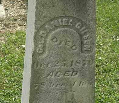 GILSON, DANIEL - Lorain County, Ohio | DANIEL GILSON - Ohio Gravestone Photos